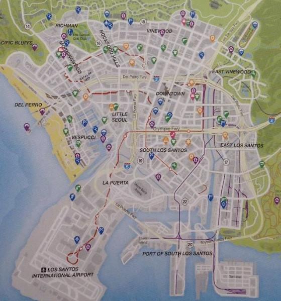 Ла мата на карте