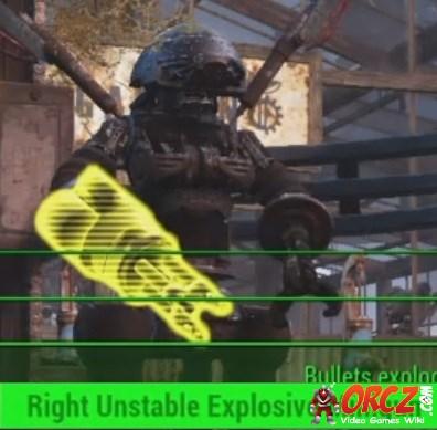 Fallout 4 Right Unstable Explosive Minigun Orcz Com