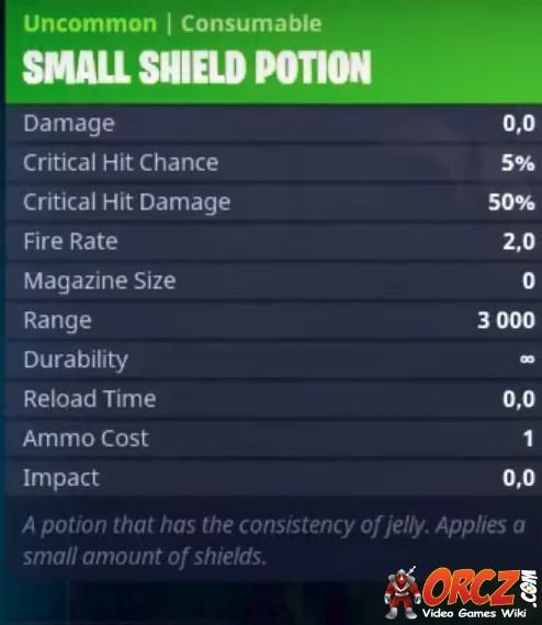 Fortnite shield potion bottle