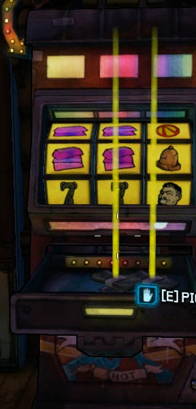 hidden slot machines in borderlands 2