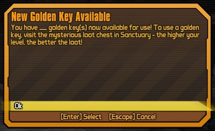 Borderlands 2: Golden Key - Orcz com, The Video Games Wiki