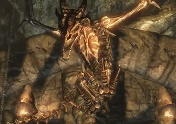 Skyrim Dragonborn: Dragon Aspect Shout First Word - Strength