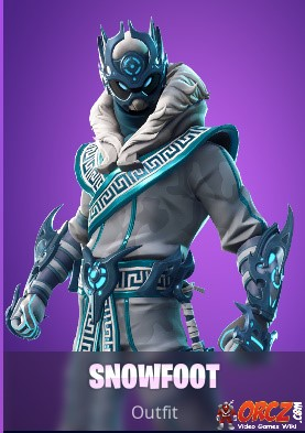 The Snow Foot Outfit In Fortnite Br You Can Buy It From The Cash Store For 1500 Vbucks