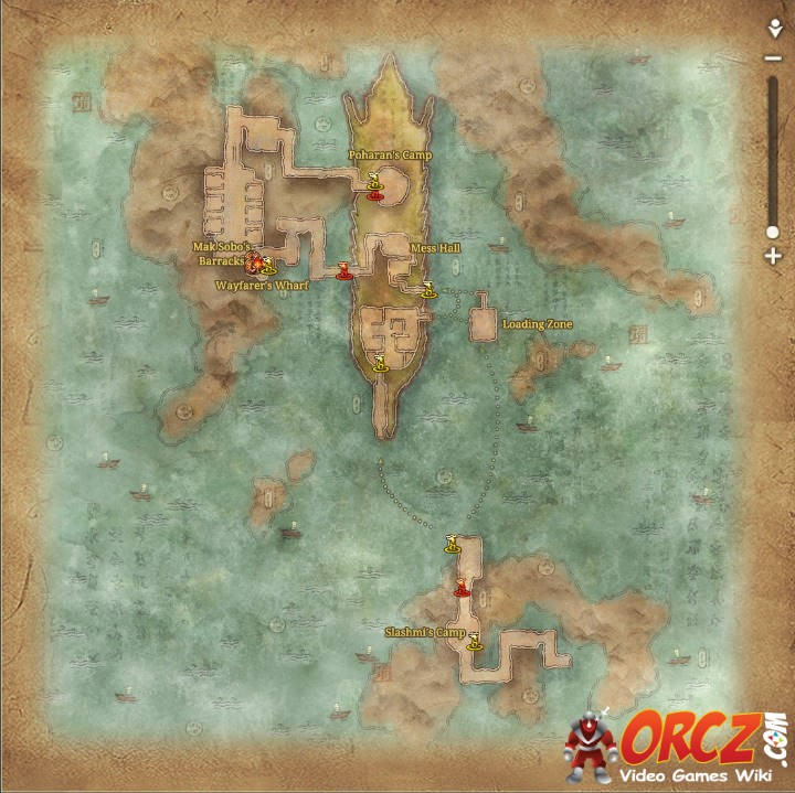 Blade and Soul: E Fleet Supply Chain - Map - Orcz.com, The Video ...