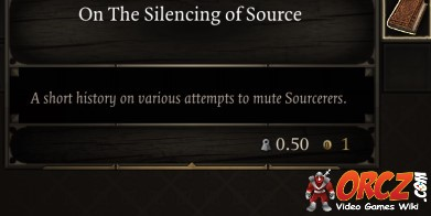 Divinity Original Sin 2: On The Silencing of Source - Orcz