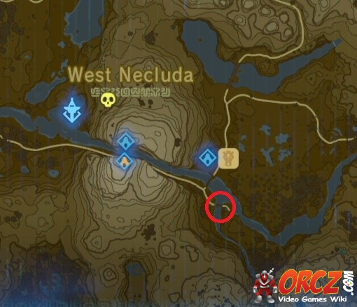 Misko The Great Bandit Zelda >> Breath of the Wild: Map - Little Twin Bridge - Orcz.com ...