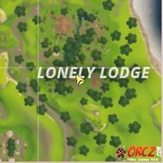 carte fortnite battle royale Carte Fortnite Lonely Lodge