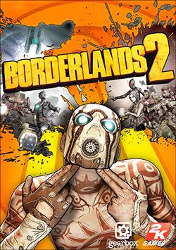 Borderlands 2 Box Cover Art