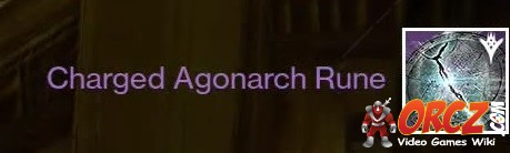 Charged Agonarch Rune