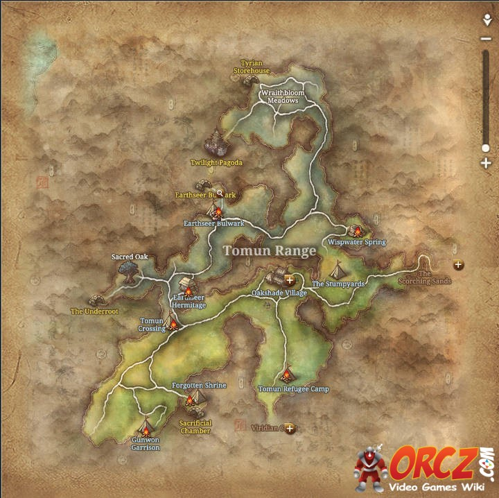 Blade and Soul: Tomun Range - Map - Orcz.com, The Video Games Wiki
