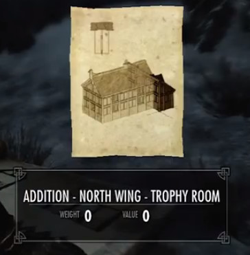 & Skyrim: Addition North Wing Trophy Room - Orcz.com The Video Games Wiki