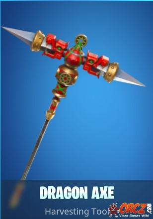 fortnite battle royale dragon axe - fire dragon skin fortnite