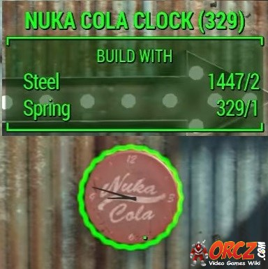 Fallout 4 Nuka Cola Clock Orcz Com The Video Games Wiki