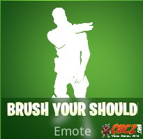 the brush your shoulders emote in fortnite br you can buy it from the cash store for 200 vbucks - brush your shoulders fortnite emote