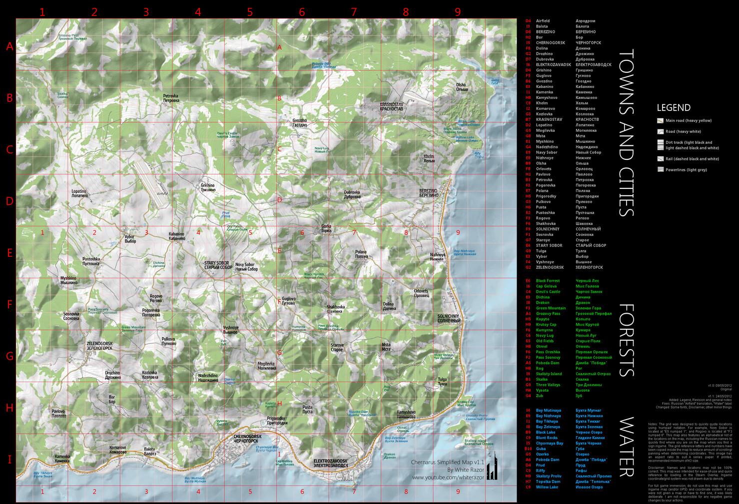 ... orcz.com/index.php?title=DayZ_Standalone:_Chernarus_Map