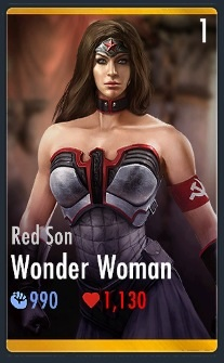 Red Son Wonder Woman Injustice Red sonRed Son Wonder Woman Injustice