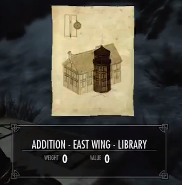 Skyrim Addition East Wing Library Orcz Com The Video