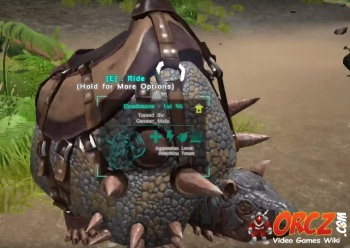 Ark Survival Evolved Doedicurus Saddle Orcz Com The