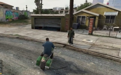 GTA V: Pick up Lamar at his house - Orcz com, The Video Games Wiki