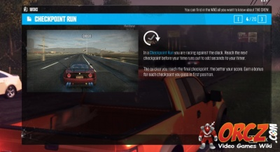 The Crew: Checkpoint Run - Orcz com, The Video Games Wiki