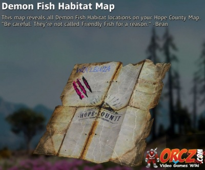 Far Cry New Dawn Demon Fish Habitat Map Orcz Com The Video Games Wiki