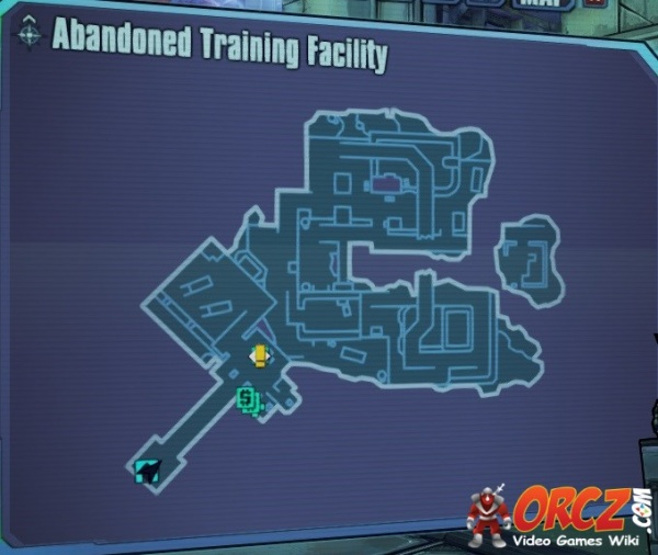 BorderlandsPreSequel Abandoned Training Facility Map.jpg