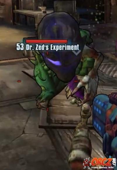 Borderlands 2: Dr  Zed's Experiment - Orcz com, The Video Games Wiki