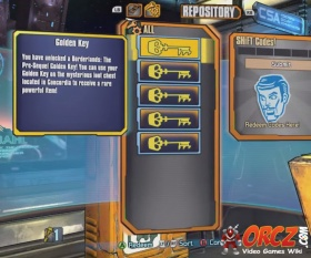 5fe1ad025 Redeeming Golden Keys at the SHiFT Code Central in Borderlands  The Pre- Sequel (BL  TPS)
