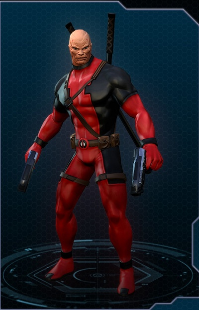 Marvel Heroes: Deadpool Unmasked Costume - Orcz.com, The ...