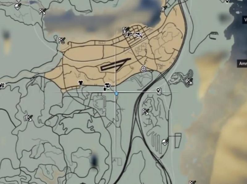 421Где находиться на карте тюрьма в гта 5