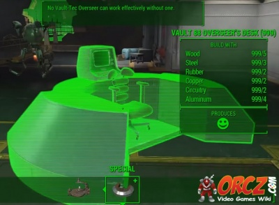 How To Build A Overseer S Desk Fallout