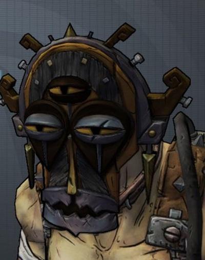 Krieg Borderlands Mask