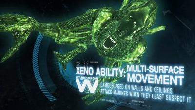 Aliens Colonial Marines Xeno Ability Multi Surface