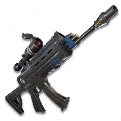 Fortnite Battle Royale Scoped Assault Rifle Orcz Com