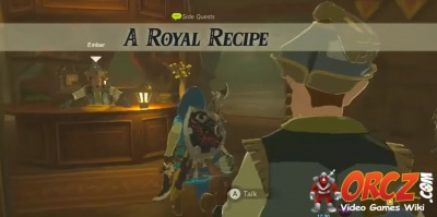 Breath of the Wild: A Royal Recipe - Orcz com, The Video