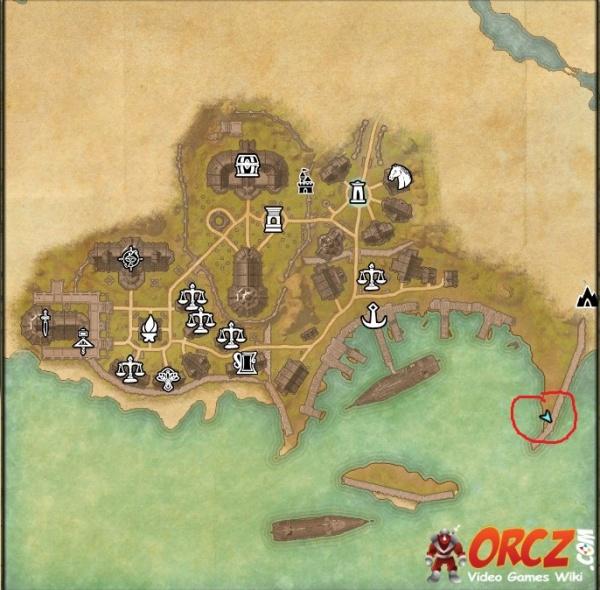 ESO: Auridon CE Treasure Map - Orcz.com, The Video Games Wiki