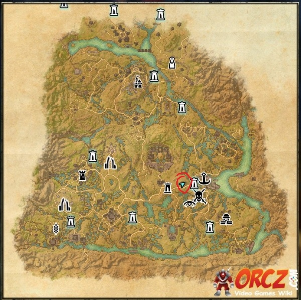 ESO: Shadowfen Treasure Map IV - Orcz.com, The Video Games Wiki