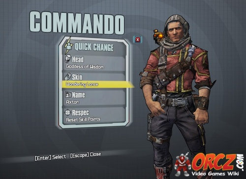 Borderlands 2 axton as athena orcz com the video games wiki