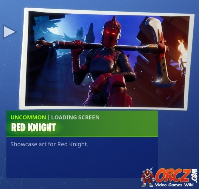 Fortnite Battle Royale Loading Screen Red Knight Orcz Com The