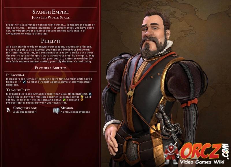 Civilization VI: Philip II - Orcz com, The Video Games Wiki