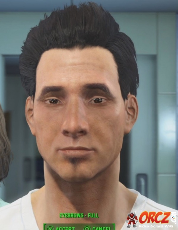 Fallout 4 Male Eyebrows Arched Downward Orcz The Video