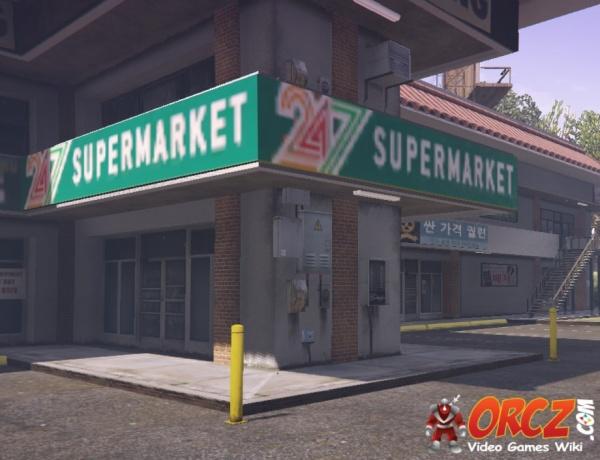 gta v 24 7 supermarket korean plaza the video games wiki. Black Bedroom Furniture Sets. Home Design Ideas