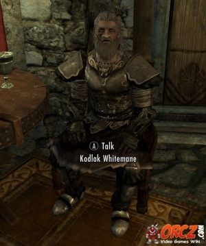 Skyrim: Kodlak Whitemane - Orcz com, The Video Games Wiki