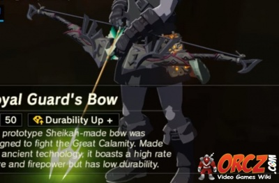 Breath Of The Wild Armor >> Breath of the Wild: Royal Guard's Bow - Orcz.com, The Video Games Wiki