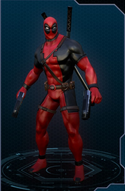 Marvel Heroes: Deadpool Classic Costume - Orcz.com, The ...