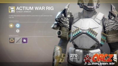 Actium War Rig in Destiny 2: Wiki.