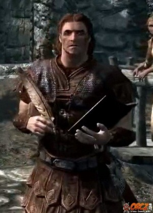 Skyrim: Hadvar Orcz com The Video Games Wiki
