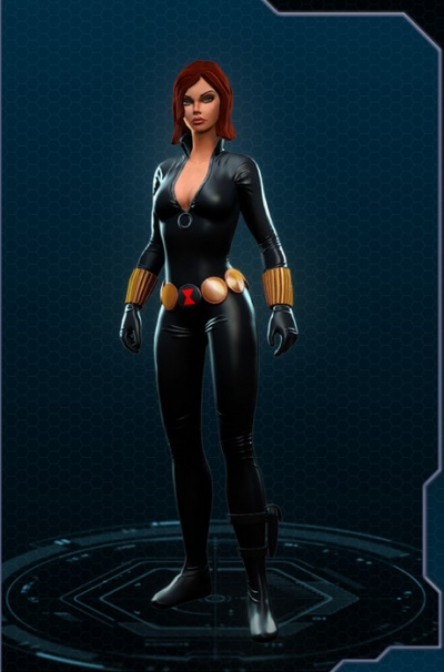 How to make a marvel black widow costume - photo#24