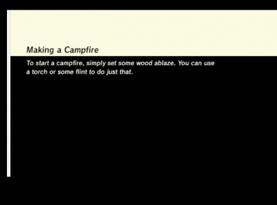 these tips are displayed while the game is loading in lozbotw