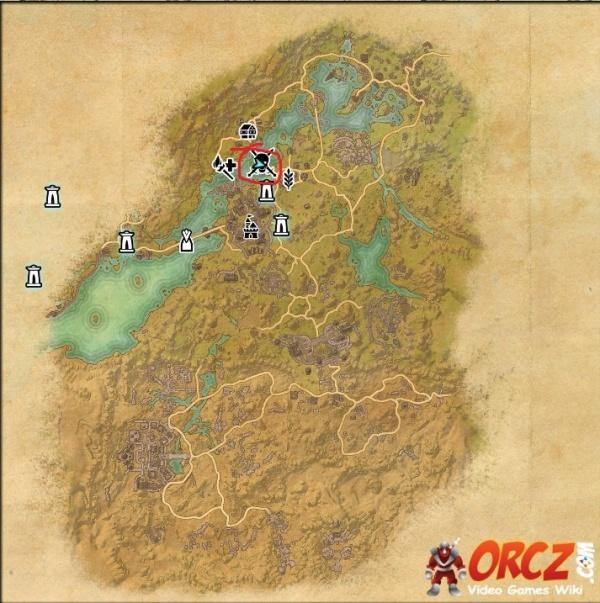 ESO: Bangkorai Treasure Map I - Orcz.com, The Video Games Wiki